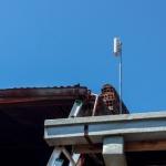 Antena punto a punto oficina