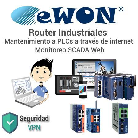 eWON: Asistencia Remota y SCADA Web