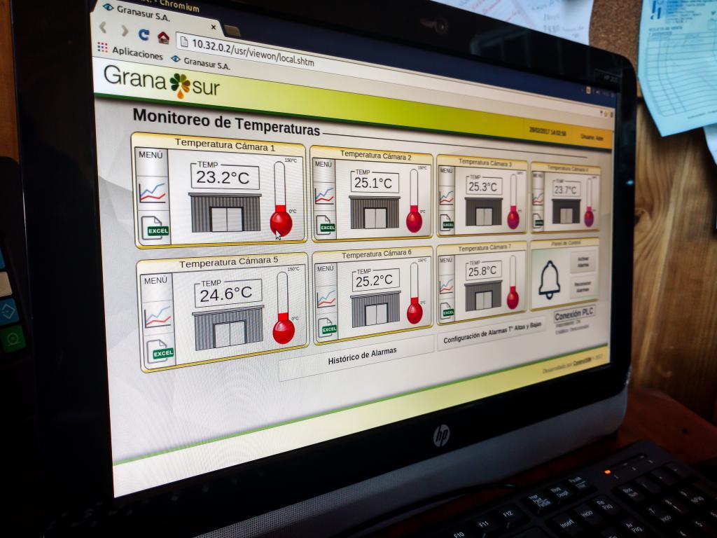 Sistema Monitoreo Temperatura