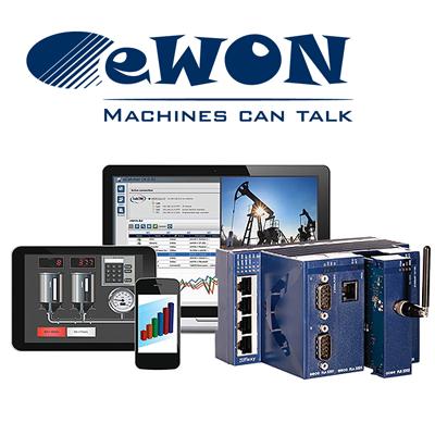 Routers ewon Conexión segura a PLC a través de internet